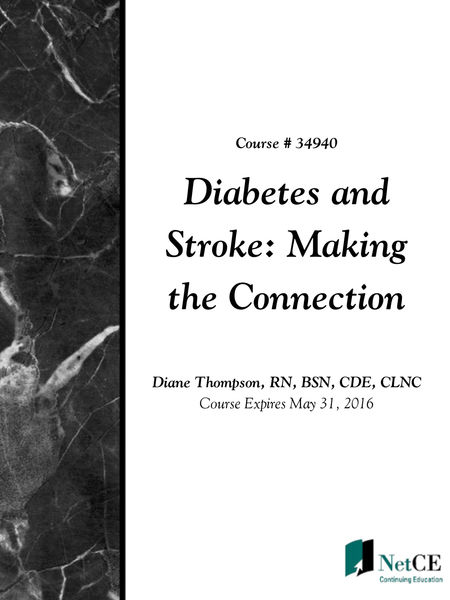 Diabetes and Stroke: Making the Connection
