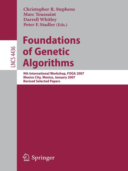 Foundations of Genetic Algorithms