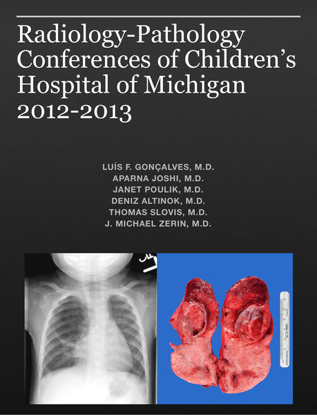 Radiology-Pathology Conferences of Children's Hospital of Michigan