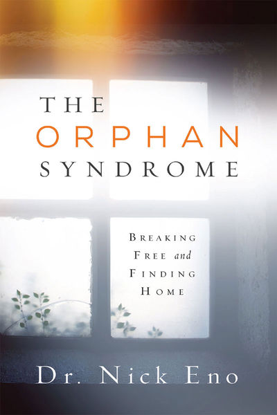"The Orphan Syndrome: Breaking Free and Finding HomeA counselor outlines the symptoms of a wounded orphan spirit vs. a healthy spirit and how an orphan spirit affects our relationships and ability to receive love. From alienation, disconnection, restlessness, to an inability to sense God's love, the syndrome is characterized by the lie that says, ""You're on your own."" Nick Eno provides dynamic, real-life examples of individuals who have struggled with this syndrome, and those who have been healed and transformed by the love of God. How to break free from the bondage of the orphan syndrome to finding your home in God as his son or daughter."