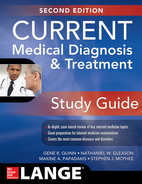 CURRENT Medical Diagnosis and Treatment Study Guide, 2E