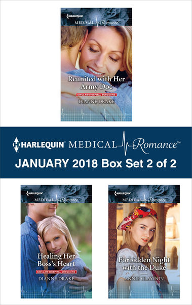 Harlequin Medical Romance January 2018 - Box Set 2 of 2