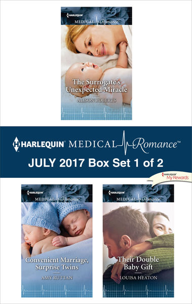 Harlequin Medical Romance July 2017 - Box Set 1 of 2