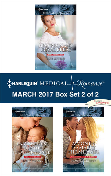Harlequin Medical Romance March 2017 - Box Set 2 of 2