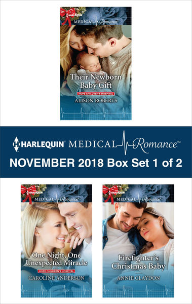 Harlequin Medical Romance November 2018 - Box Set 1 of 2