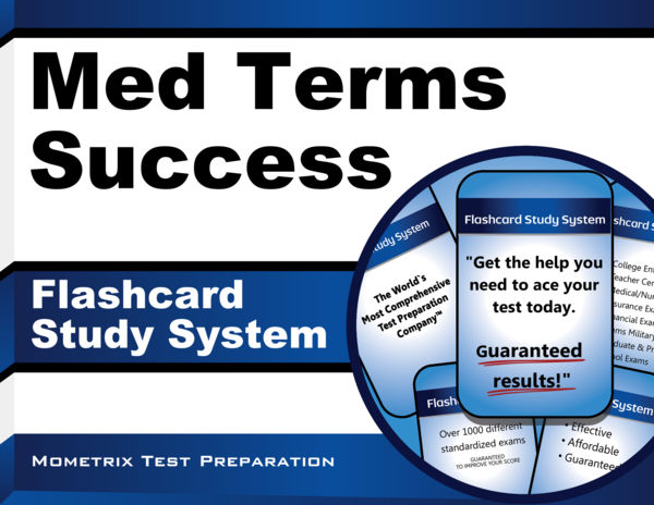Med Terms Success Flashcard Study System: