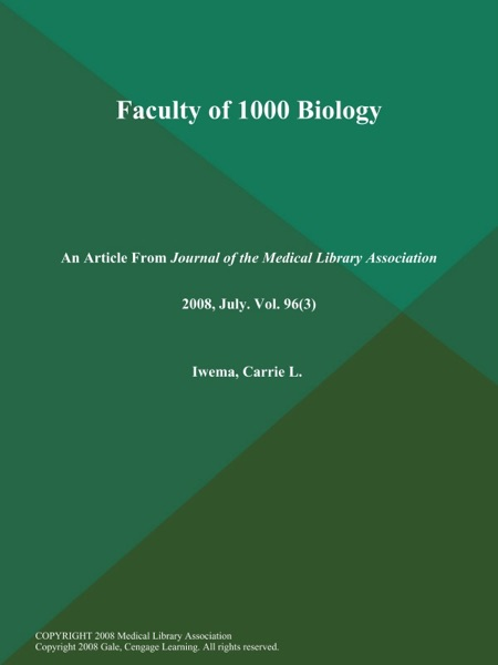 Faculty of 1000 Biology