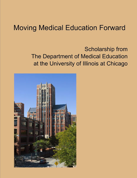 Moving Medical Education Forward