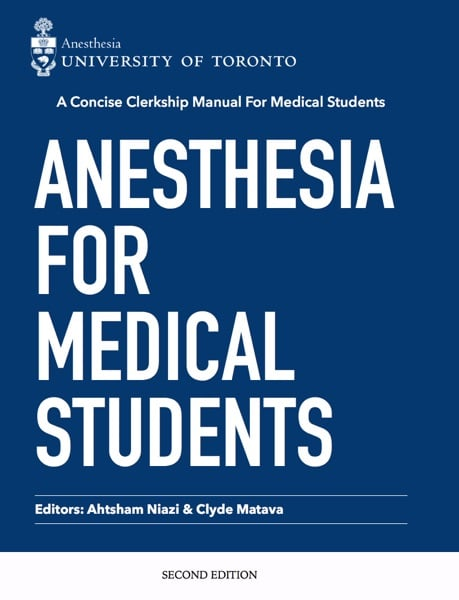 Anesthesia for Medical Students