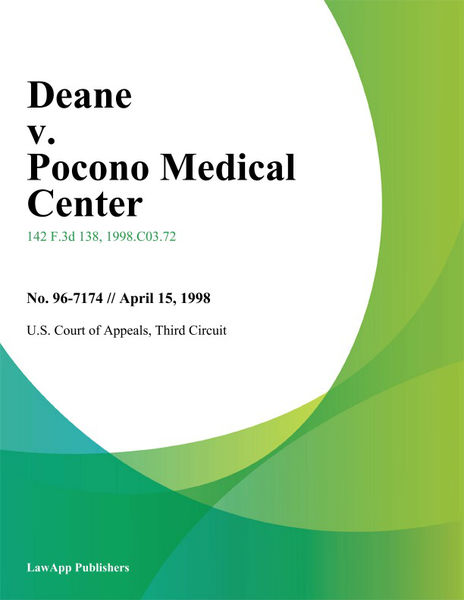 Deane V. Pocono Medical Center