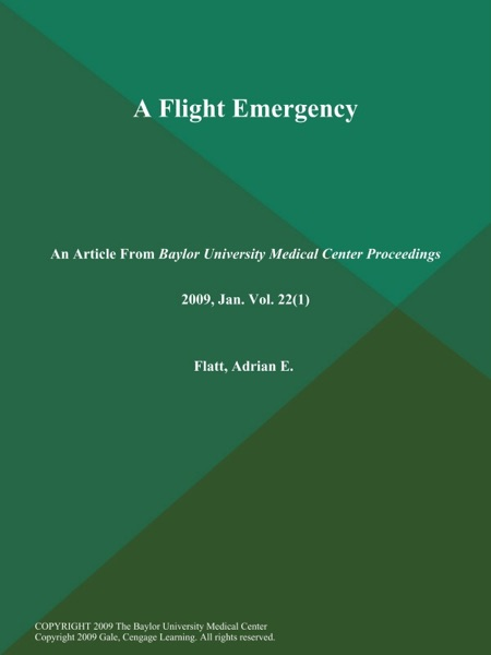 A Flight Emergency