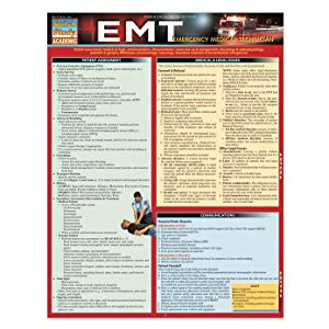 Emt- Emergency Medical Technician (Quick Study Academic)