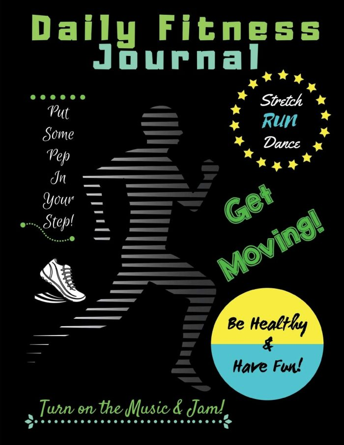Daily Fitness Journal (Kids Fun Exercise Guide Log Book for children)