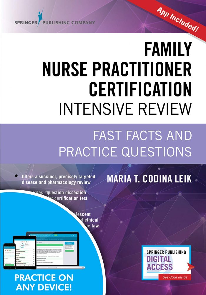 Family Nurse Practitioner Certification Intensive Review, Third Edition: Fast
