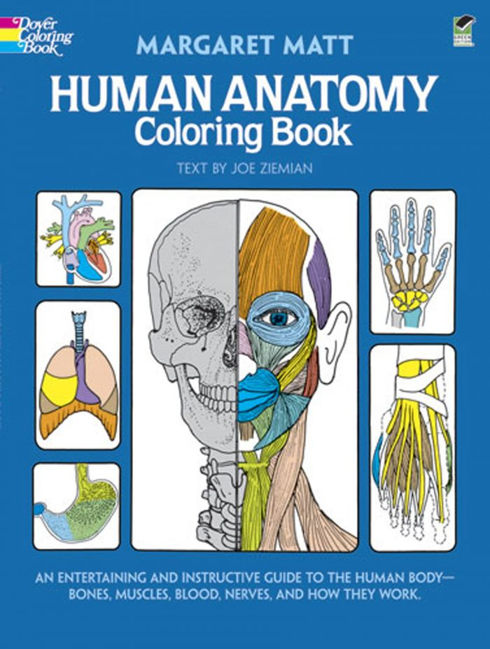 Human Anatomy Coloring Book: an Entertaining and Instructive Guide to the Human