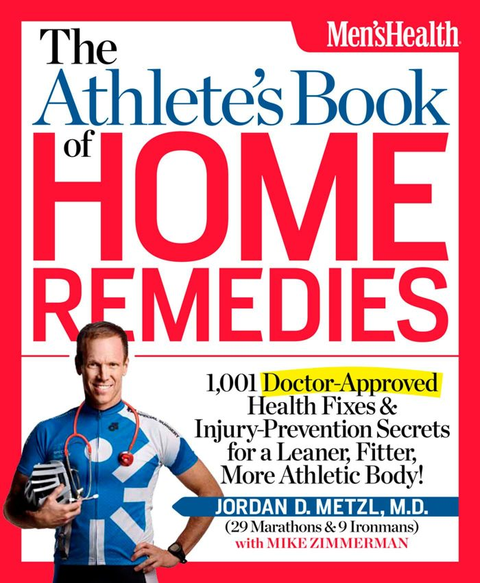 The Athlete's Book of Home Remedies: 1,001 Doctor-Approved Health Fixes and