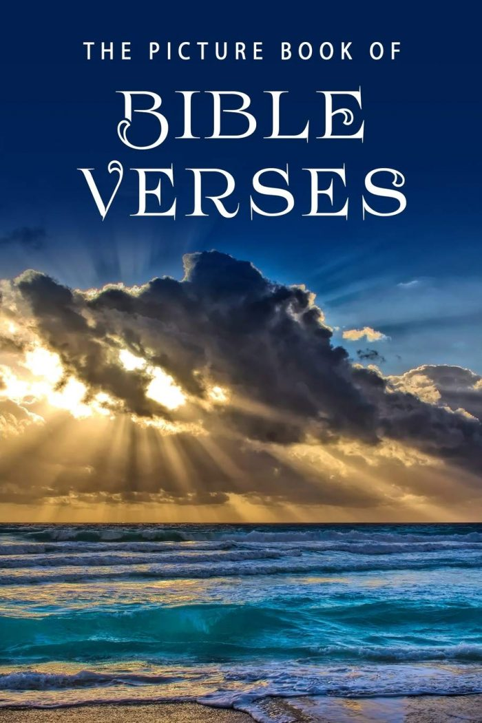 The Picture Book of Bible Verses: A Gift Book for Alzheimer's Patients and